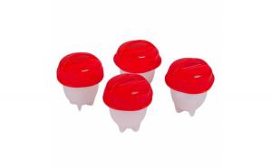Set 4 recipiente din silicon cu capace