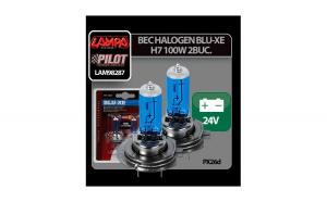 Bec halogen Blu-Xe  H7 100W PX26d 24V