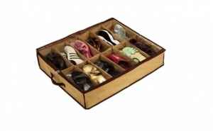 Acum e mult mai simplu sa iti depozitezi pantofii cu organizatorul de pantofi la doar 14 RON, redus de la 60 RON