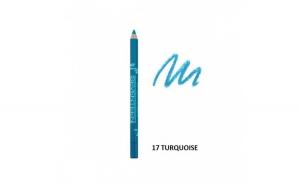 Creion de ochi Supersmooth Waterproof Eyeliner,Seventeen,17 Turquoise 1.2g