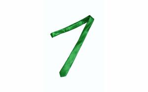 Cravata cu aspect matasos, verde deschis