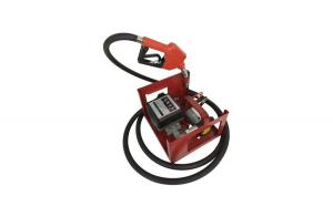 Pompa electrica transfer combustibil cu contor si furtun, kit complet alimentare 24V