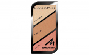Paleta conturare si evidentiere Manhattan Contouring Kit, 002 Summer In Barbados