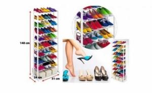 Poate sustine 20 de perechi de pantofi : Suport pentru pantofi