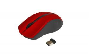 Mouse Optic Wireless, Art Am-97d, Rosu