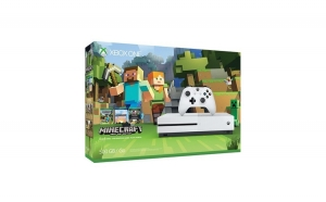 Consola XBOX ONE Microsoft Slim 500gb With Minecraft - White