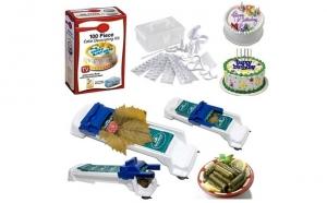 Setul gospodinei - Aparat de facut sarmale + Set 100 piese pentru decorarea prajiturilor