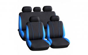 CARGUARD  - Huse universale pentru scaune auto - Negru / albastru
