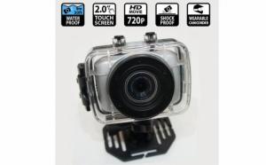 HD Action Camera pentru sporturi extreme , rezistenta la apa cu ecran de 2.0 inch TFT LCD si 720P la doar 209 RON in loc de 418 RON