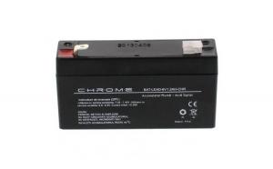 Acumulator plumb acid 6V 1.2AH, Chrome