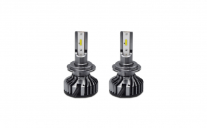 Set 2 becuri LED auto F2 H7, 100W, 6000Lm,  cu canbus (fara eroare bec ars)