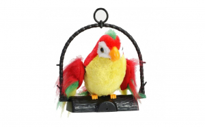 Jucarie Papagal vorbitor, imitator sunet