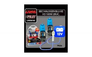 Bec halogen Blu-Xe  H3 100W PK22s 12V