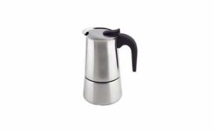 Espressor cafea din inox 6 cesti Grunberg GR600 la doar 49 RON in loc de 98 RON