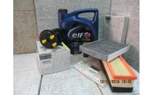Pachet filtre Renault Clio II 1,5 diesel Original RCF 1,5 10W40
