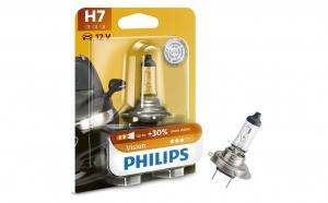 Bec Philips 12v, 55w, H7 vision