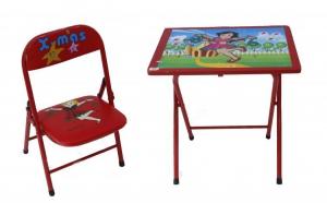 Set scaun si birou copii rosu, la doar 105 RON in loc de 399 RON