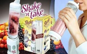 Shake 'n Take - cana blender pentru legume si fructe, la doar 89 RON in loc de 200 RON