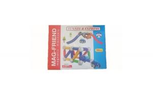 Set de joc constructie magnetica Drive & Fly 56 piese