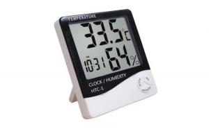 Ceas digital cu termometru si higrometru