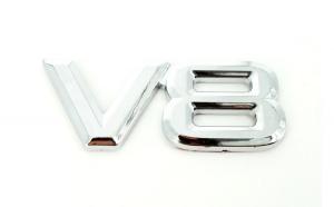 Ornament cromat V8 COD:P8V