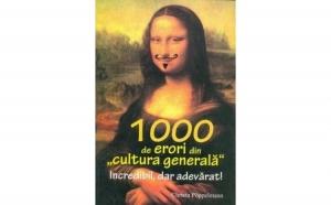 1000 de erori din cultura generala, autor Christa Poppelmann