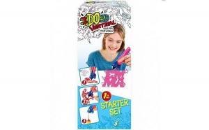Creion IDO3D Vertical Roz, Jocuri, jucarii si joaca