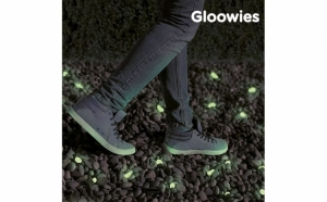 Pietricele decorative fluorescente, gloowies