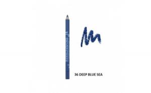 Creion de ochi Supersmooth Waterproof Eyeliner,Seventeen,36 Deep blue sea1.2g