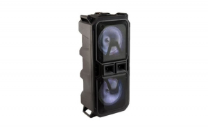 Boxa Portabila Tip Troller, LT-2801XBT, Karaoke, 40 W, Microfon, Bluetooth, FM, USB, MicroSD, AUX, Lumini, Negru