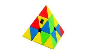 Cub Rubik 3x3x3 Moyu MoFang Meilong Pyraminx, Stickerless, 253CUB