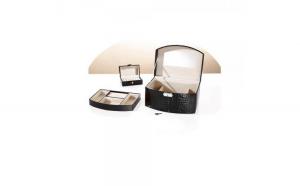 Caseta bijuterii mare cu o mini caseta pentru voiaj