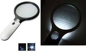 Lupa profesionala cu 3 LED pentru birou, electronica, medicina, bijuterii
