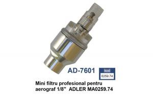 """Mini filtru profesional pentru aerograf 1/8"""" ADLER MA0259.74"""