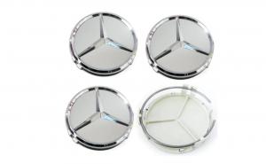 Set 4 capacele roti 75mm Mercedes Benz