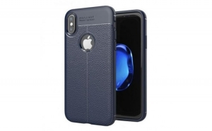Husa Apple iPhone X Zore TPU moale Albastru