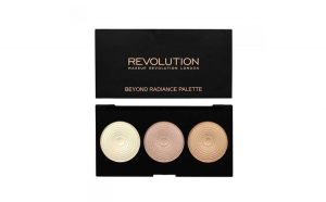 Paleta iluminatoare MAKEUP REVOLUTION 3 Radiant Lights Highlighter Palette - Beyond Radiance, 15g