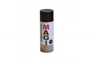 Vopsea spray Magic maro 8017, 400 ml