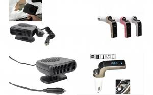 Pachet Aeroterma auto + Modulator FM G7