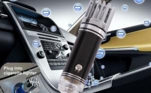 Elimina in mod silentios aproape orice urma de fum si de miros neplacut: Ionizator auto, purificator, la doar 40 RON in loc de 98 RON