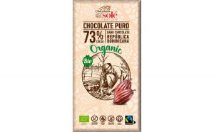 Ciocolata neagra BIO 73% cacao 100 gr
