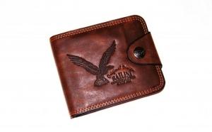 Portofel piele barbatesc Bailini Genuine Leather la doar 29 RON in loc de 89 RON