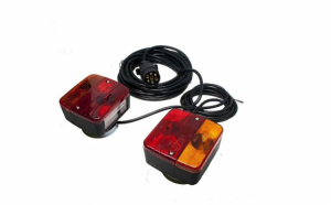 Set de lampi cu magnet pentru remorca/rulota