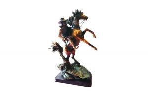 Statueta Cal si Calaret, 33 cm,  862