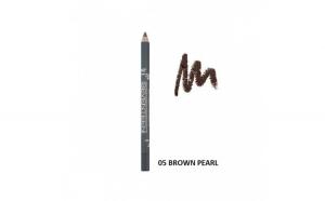 Creion de ochi Supersmooth Waterproof Eyeliner,Seventeen,05 Brown pearl 1.2g