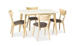 Set Masa Combo Alba + 4 scaune