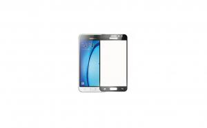 Folie sticla securizata Full Screen cu adeziv pe tot ecranul Samsung Galaxy J3 2016 Negru