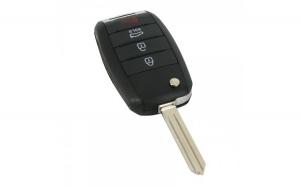 KIA - Carcasă cheie tip briceag. 3+1 butoane