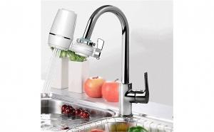 Purificator pentru apa, atasabil la chiuveta, cu robinet si filtru