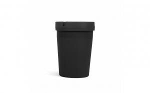 Scrumiera - negru - 110 mm